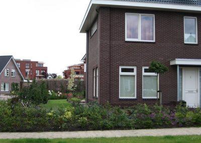 Aanleg tuin bij nieuwbouw woning